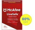 Thumbnail McAfee LiveSafe 2020 Antivirus -1 Year Unlimited Subs