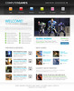 Thumbnail Games Website Template