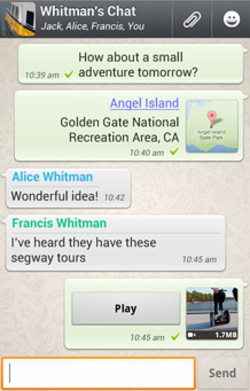 Product picture WhatsApp Sniffer App v1.03 for Android