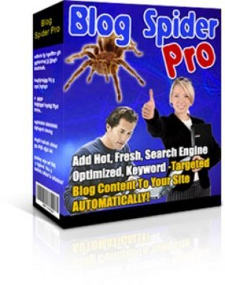 Product picture Blog Spider Pro